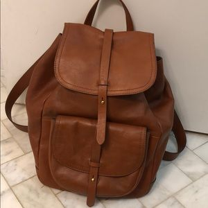 Madewell Transport Rucksack leather backpack